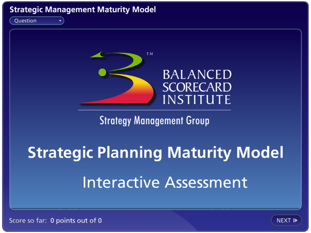 Strategic Management Maturity Model